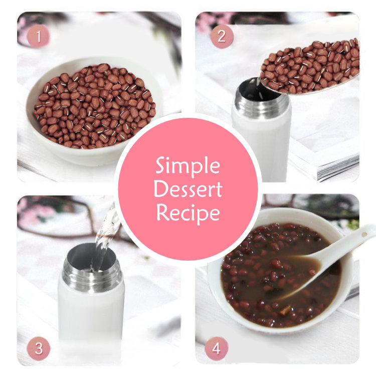 Dessert Recipe using BeddyBear Vacuum Flask Flip Cap Series