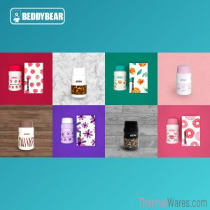 BeddyBear Vacuum Food Container Prints Series