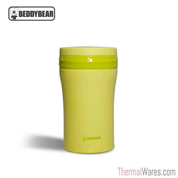 BeddyBear Vacuum Food Container in Green
