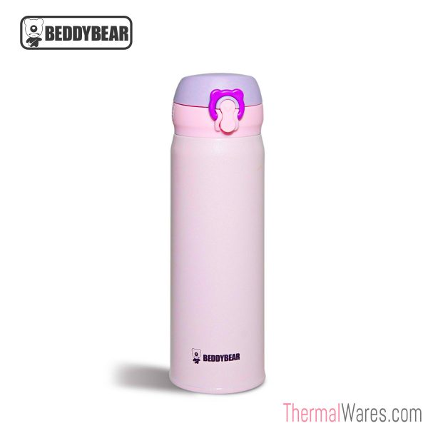 BeddyBear Vacuum Flask Pure Colors Series in Purple