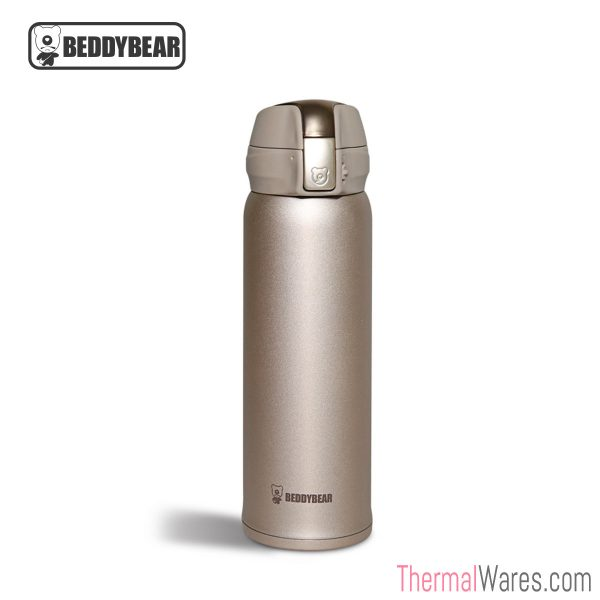 BeddyBear Vacuum Flask in Radiant Gold