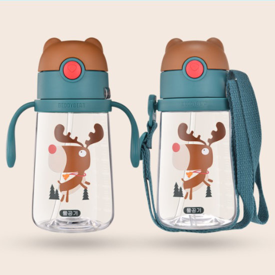 Dual Usage of BeddyBear Children Plastic Bottle Animal Series Deer Design