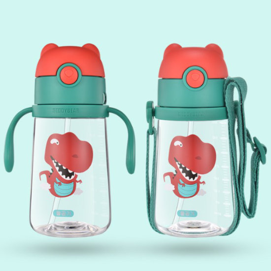 Dual Usage of BeddyBear Children Plastic Bottle Animal Series Dinosaur Design
