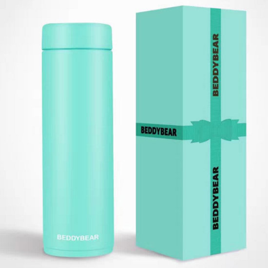 BeddyBear Vacuum Flask Mini Series Turquoise Color with Packaging Box