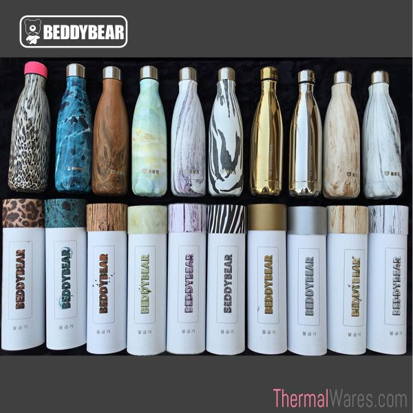 BeddyBear 17 oz Cola Shaped Insulated Drink Bottle